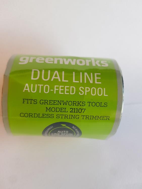 Greenworks Trimmer spole beställningsvara