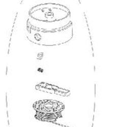 Globe Trimmer huvud RA34122186 Beställningsvara
