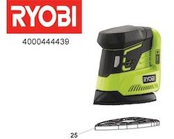Ryobi Sandpapper platta beställningsvara
