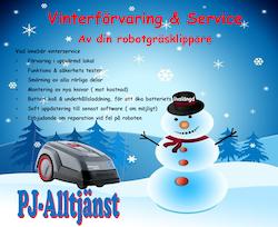 Vinterförvaring Robotgräsklippare