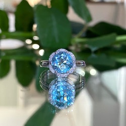 FLORAL BY Sofia Falk RING - Topas