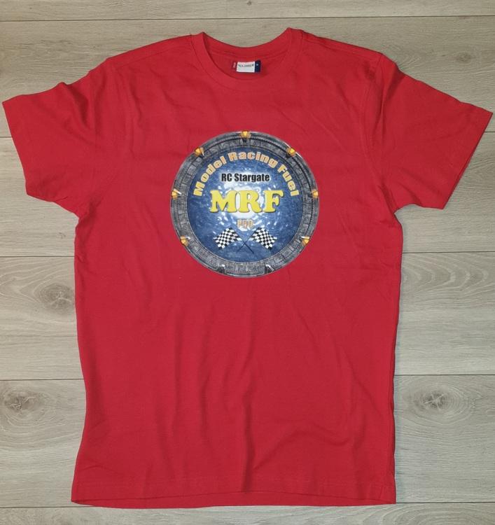 T-Skjorte m/Logo - Rød