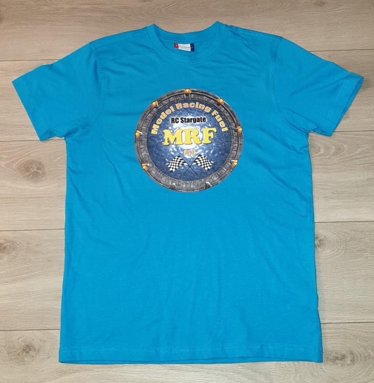 T-Skjorte m/Logo - Blå