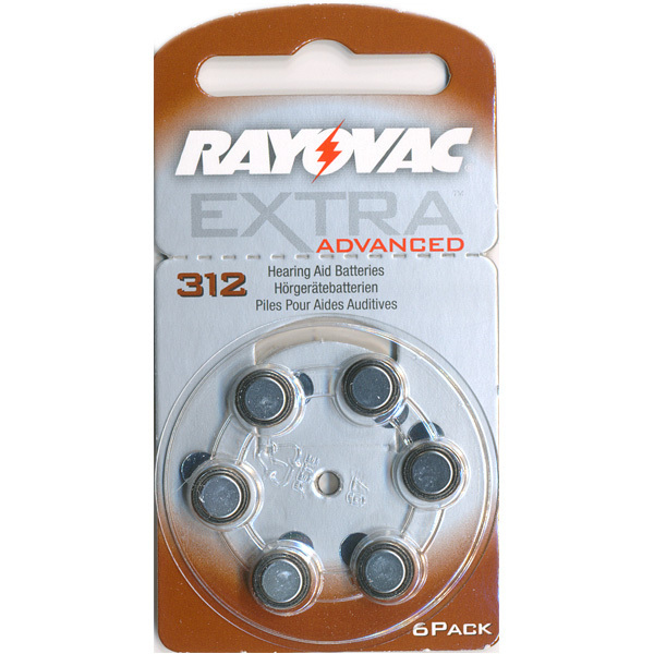 Batteri Rayovac Extra (312)