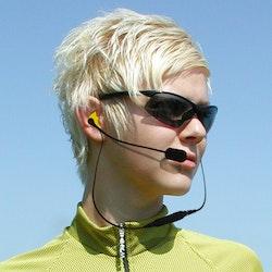 NanoComm Stereo Bluetooth Headset m. bom mic