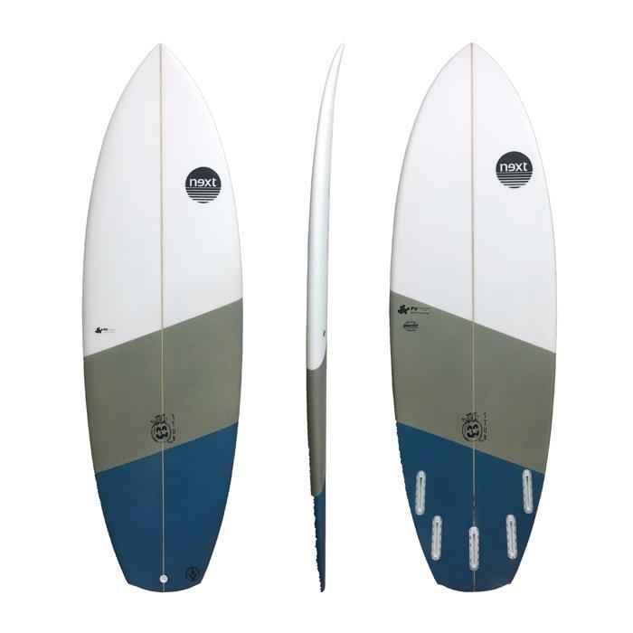Next Surfboards New Stub 5`11...35.2L