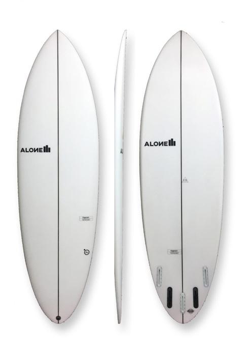 "Alone Surfboards Captain 5'8"" PU"