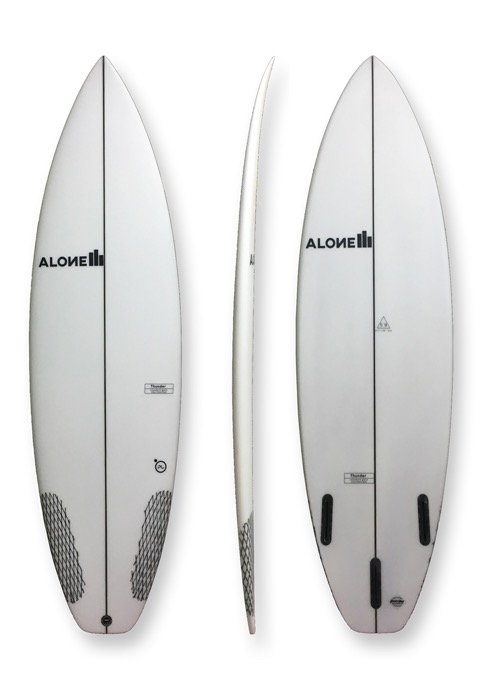 "Alone Surfboards Thunder 5'11"" PU"