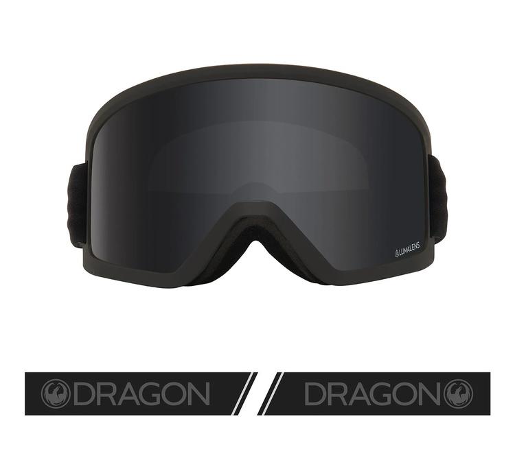 DX3 OTG DRAGON Blackout with Lumalens Dark Smoke Lens
