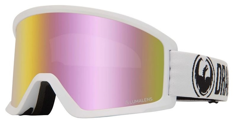 DX3 OTG  DRAGON White with Lumalens Pink Ionized Lens