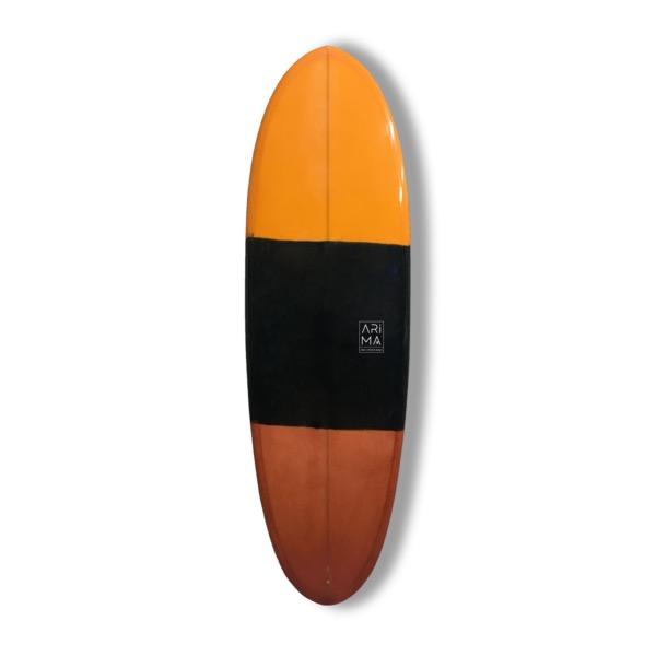 B52 Klassisk Shortboard  6`3