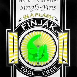 Finjak, singlefins skrue