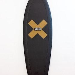 Album Presto Soft Top surfboard 5ft 7 Futures - Golden X