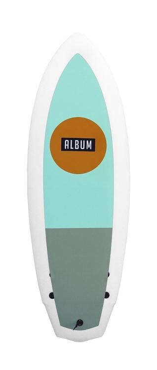 """Album 4'10"""" 33+ Liter SeaSkate // Sunspot Retro"""