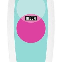 """Album Presto Soft Top surfboard Presto // 5'7"""" Seafoam Drops"""