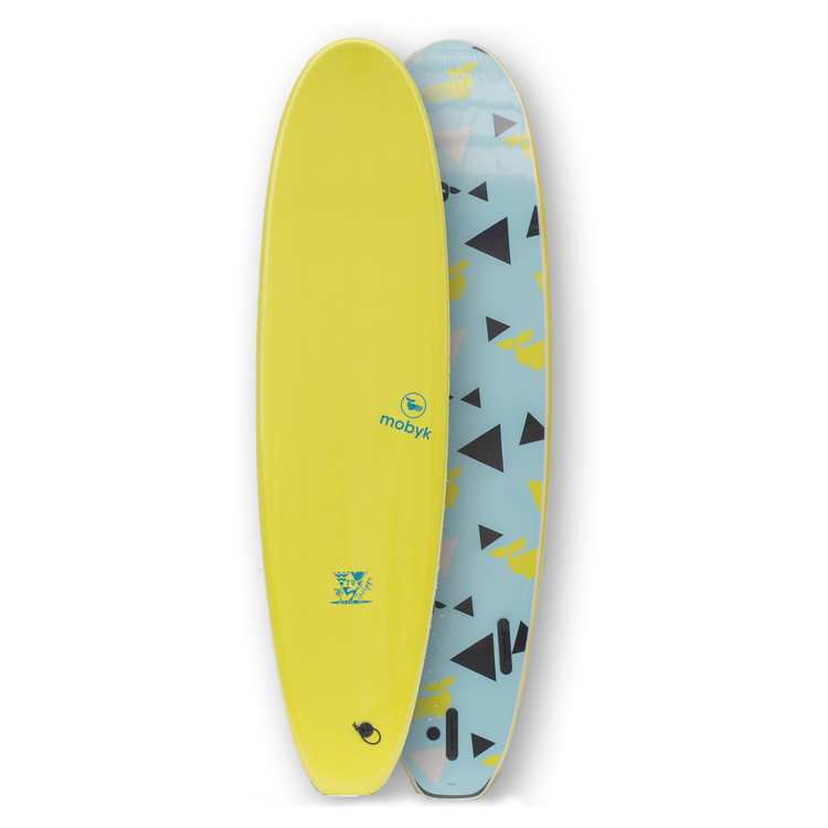 Mobyk Classic Long Tritype Soft top 7´0 FCS fins
