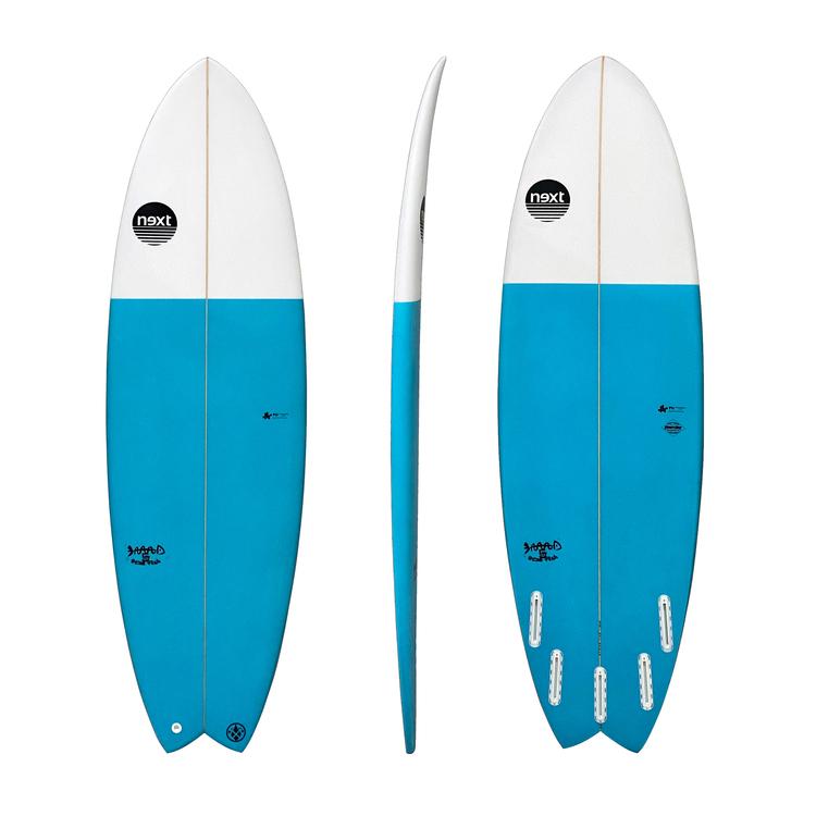 Next Surfboards Dead Fish 5`10...34.1L