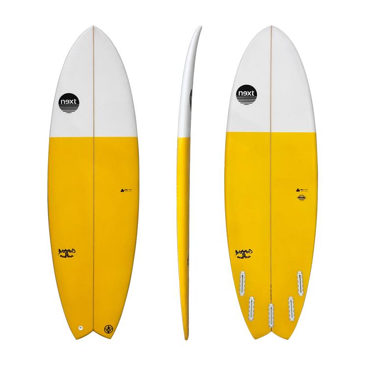 Rent Next Surfboards Dead Fish 5`10...34.1L