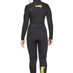 Lunasurf Womens 6.4mm Hooded Slant Zip Yamamoto Wetsuit