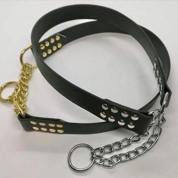 Halsband Halvstryp PVC till hund över 15 kg