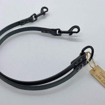 Tvillingkoppel av Polyuretanbelagd PVC-väv till hundar under 15 kg