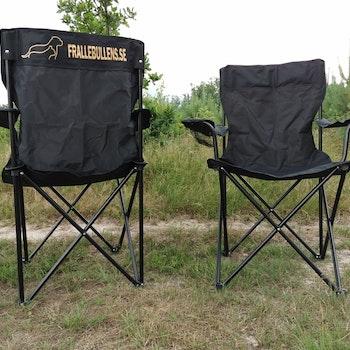 Campingstol med tryck