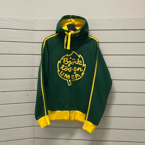 ZIP-JACKA GREEN RETRO