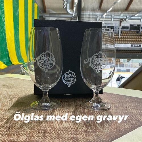 ÖLGLAS KUPA PERSONLIG GRAVYR