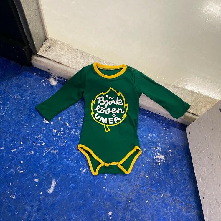 BABYBODY LOGGA GRÖN