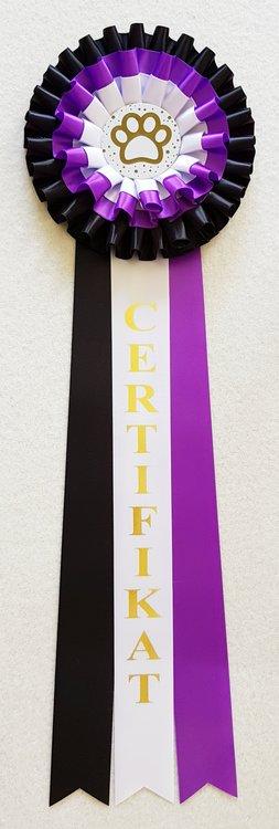 Lagerrosett CERT Kvalitetspris Certifikat