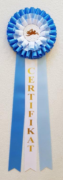 Lagerrosett CERT Certifikat