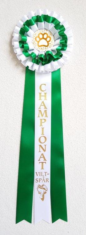 Lagerrosett STDL3 Championat viltspår