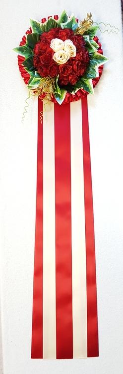 Blomrosett F018
