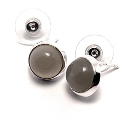 Earrings/ Studs HOLI grey moonstone