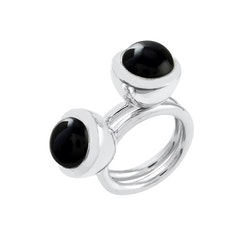 Ring HOLI Small black onyx
