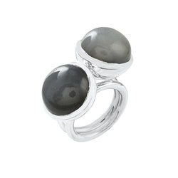 Ring HOLI Small grey moonstone