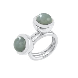 Ring HOLI Small aquamarine
