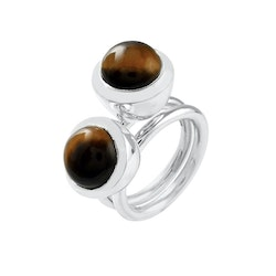 Ring HOLI Small Tiger eye
