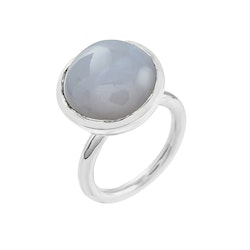 Ring HOLI Big chalcedony