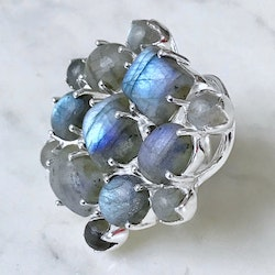 Ring US with Labradorite
