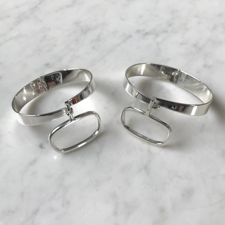 Silverarmband, 60-talslook, Silver bracelet, 60's look