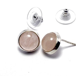 Earrings/ Studs HOLI rose quartz
