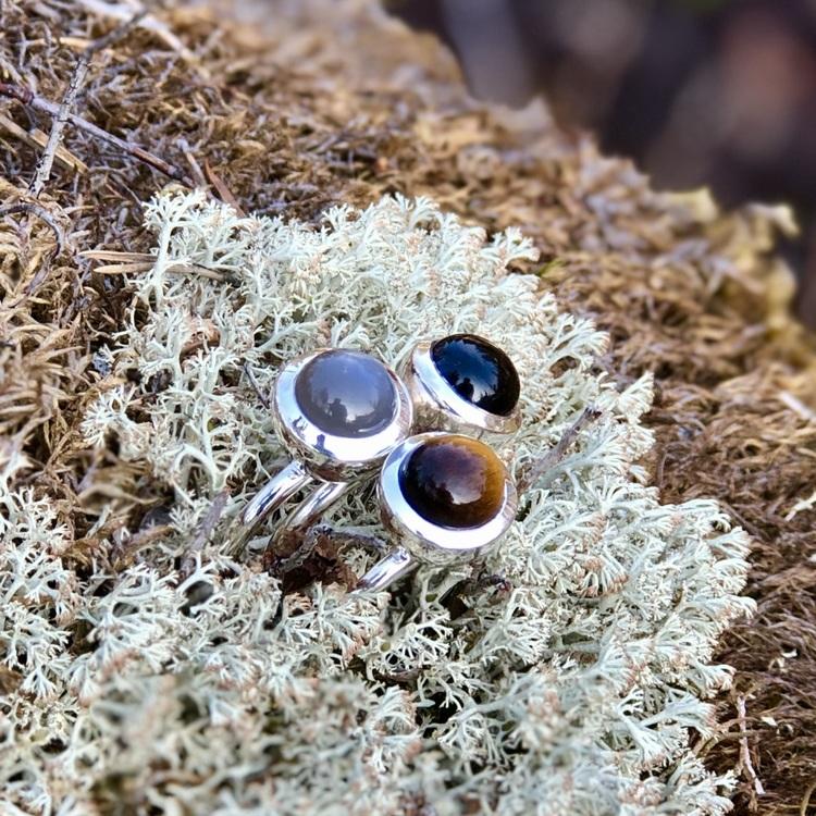 Earrings/ Studs HOLI onyx