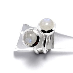 Ring HOLI Small rainbow moonstone