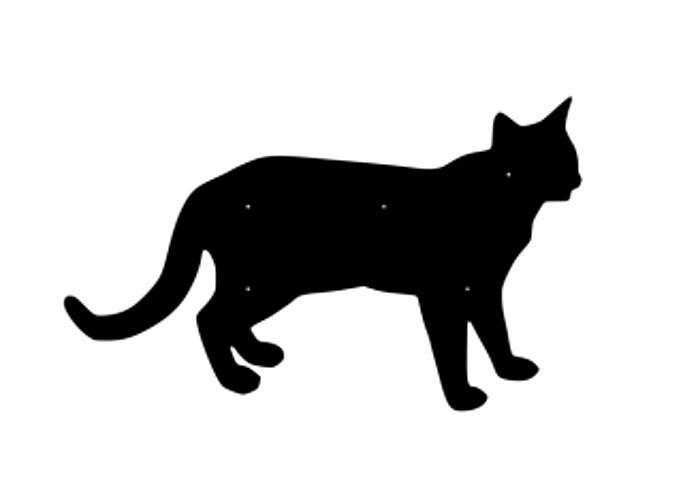 Fasaddekor Katt 3