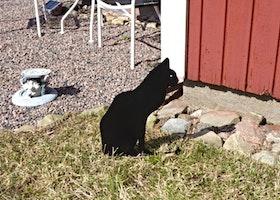 Trädgårdsdekoration Katt 1