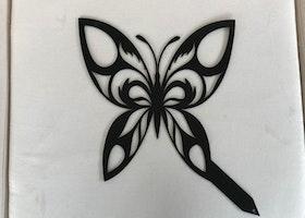 Trädgårdsdekoration Fjäril