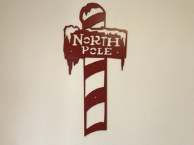 North Pole för vägg