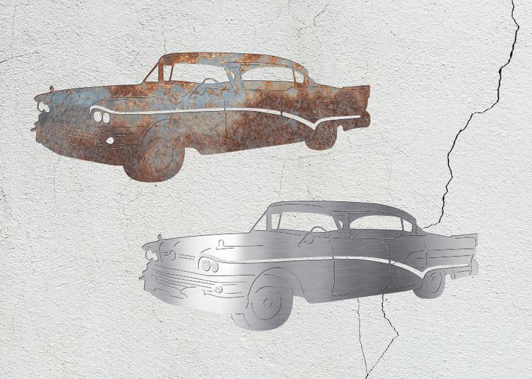 Konturskuren Buick Super.