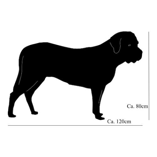 Mastiff Siluett